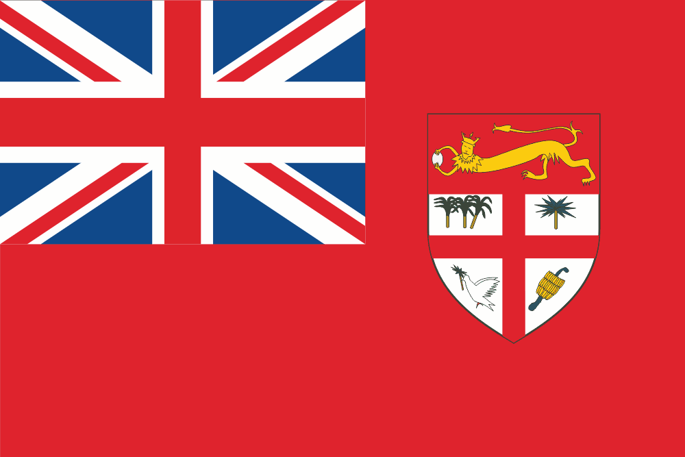 les iles fidji drapeau