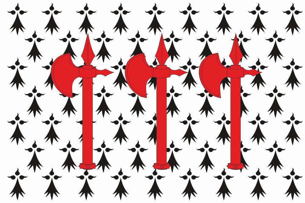 Flag of concarneau brittany france vexillology - Point p concarneau ...
