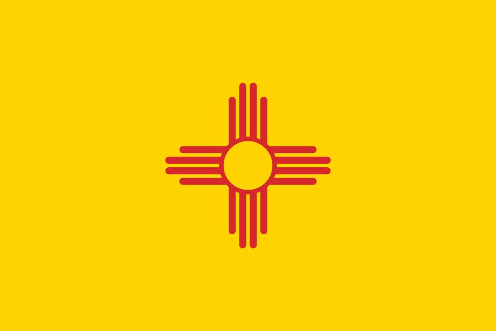 Drapeaux Flags New Mexico